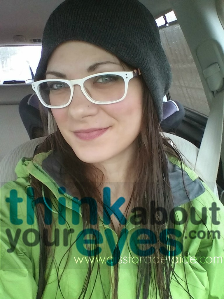 Keep your vision as fit as your body! #ThinkAboutYourEyes! #IC [ad]