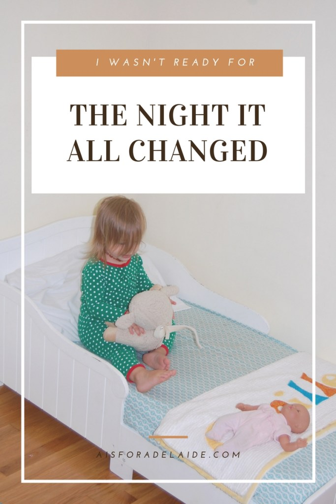 The night it all changed... Things you don't read about #parenthood.