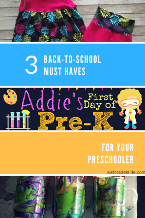 3 Must Haves for Back-to-School