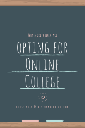Why More Women are Opting for Online College