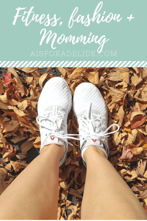 Fitness, fashion, momming with #ReebokCloudRide DMX #IC [ad]