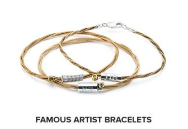 Wear Your Music Famous Artist Bracelets