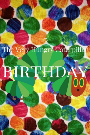 The Very Hungry Caterpillar 2nd Birthday