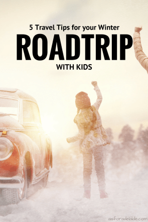 5 Travel Tips for your Winter Road Trip with Kids