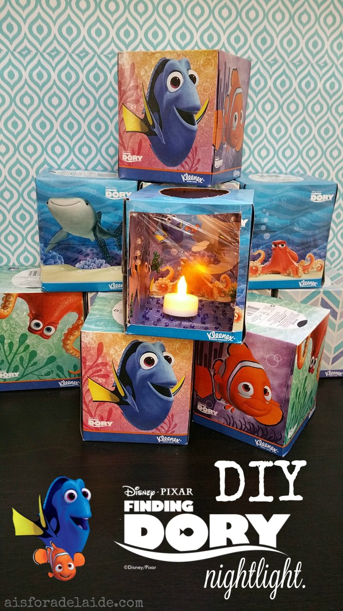 DIY Finding Dory Aquarium Night Light