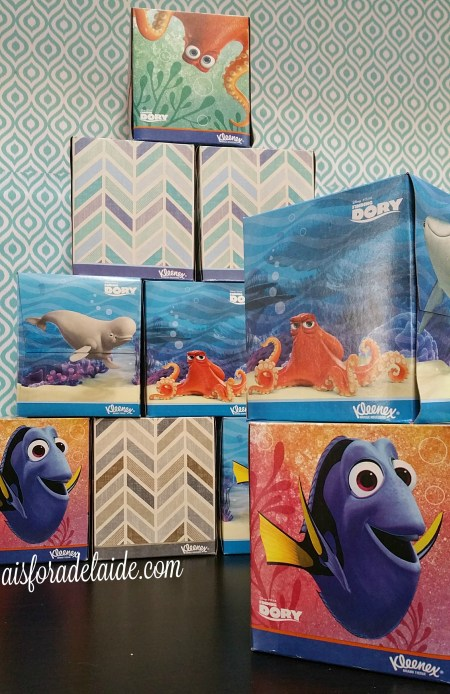 DIY Finding Dory Nightlight plus FREE movie rental with Kleenex! #FamilyMovieWithKleenex #Cbias #ad