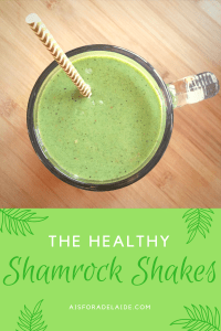 The Healthy Shamrock Shake!
