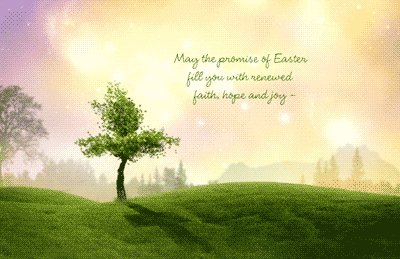 Renewed hope and joy this Easter