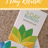 3 Day Refresh