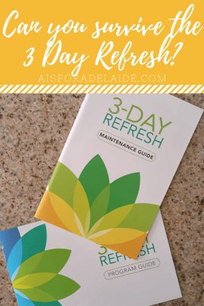 Can you handle the 3 Day Refresh: the real truth.