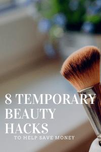 8 Temporary Beauty Hacks to Help Save Money