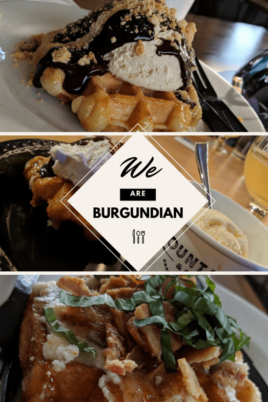 We are burgundian: Foodiee + PVD