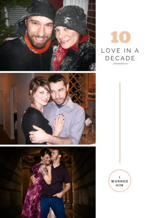 Love in a decade: a non-fairytale
