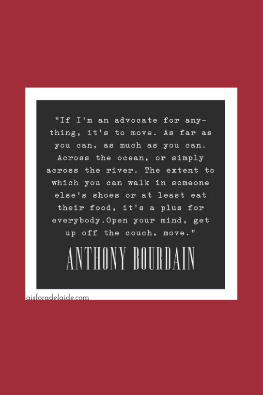 Anthony Bourdain, the end of the punk rock chef