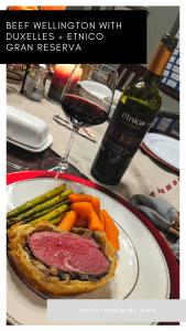 Beef Wellington with Duxelles + Etnico Gran Reserva Recipe