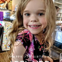 Happy Birthday, Addie!