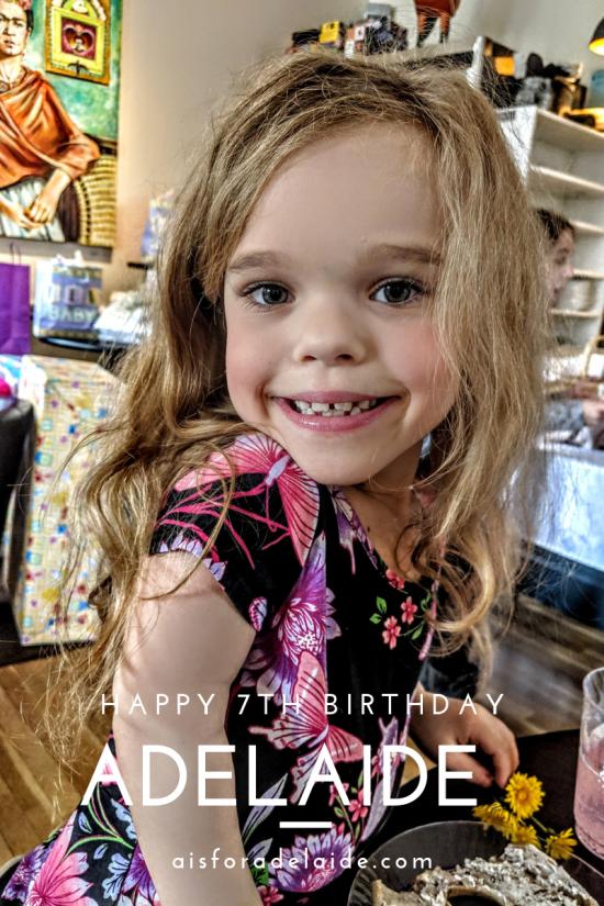 Happy Birthday Adelaide