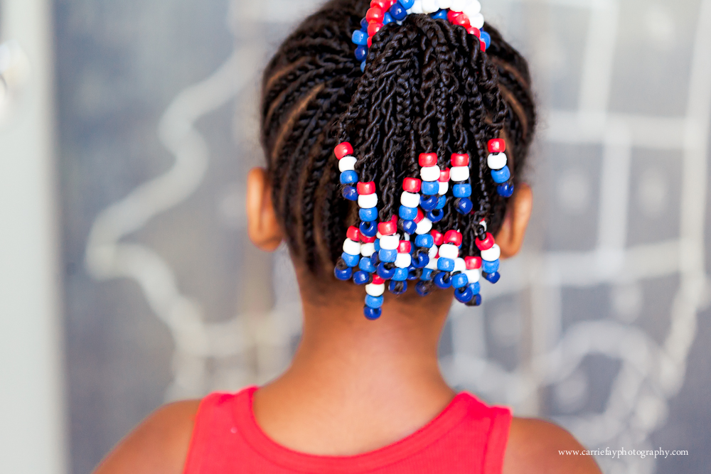 Patriotic Beads Happy 4th Amaro