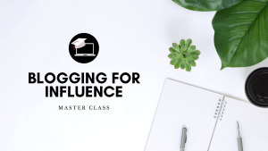 Blog Bundle: Blogging for Influence