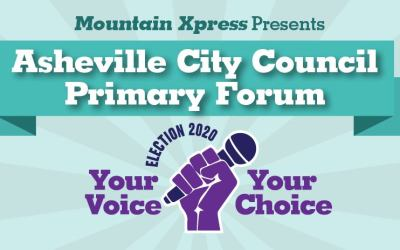 Asheville City Council Primary Forum