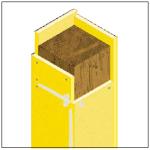 Protección pasiva contra el fuego en pilares de madera