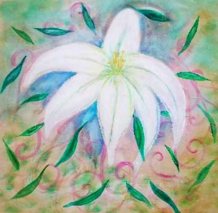 Quatre Fleurs: Lily