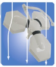led air flow design