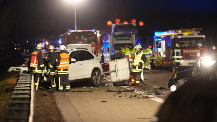 Resultado de imagen de Verkehrsunfall in Deutschland