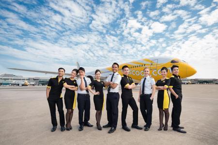 酷航航空 Scoot 招募台灣區空服員,即日起至8月14日前開放線上報名應徵!