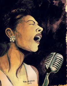 Billie holiday3-pieni