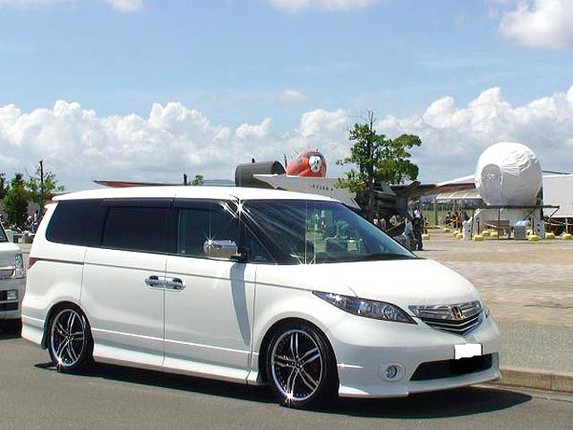 HONDA ELYSION + SHALLEN XF-55 - ELYSION XF-55