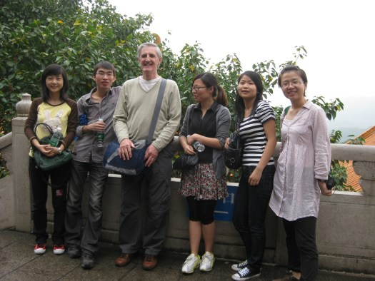 John Quigley - Aitece Teaching English in China