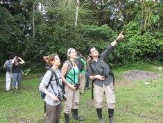 Orientation Hike at La Selva