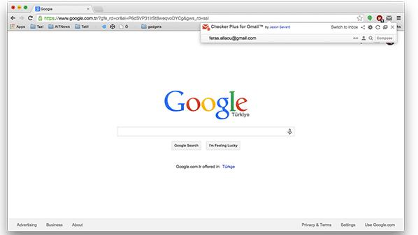 إضافة لدمج بريد جي ميل مع جوجل كروم