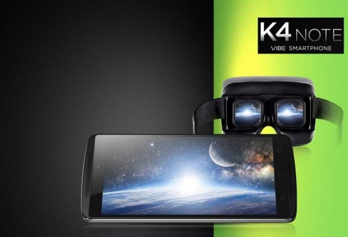 لينوفو تطلق هاتفها اللوحي K4 Note بسعر 180 دولارا