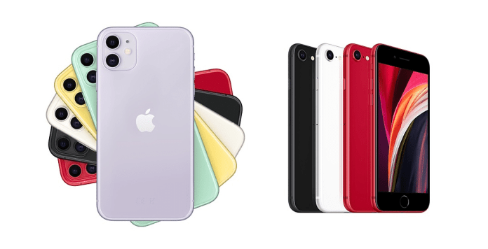Comprehensive comparison between my new iPhone SE and iPhone 11