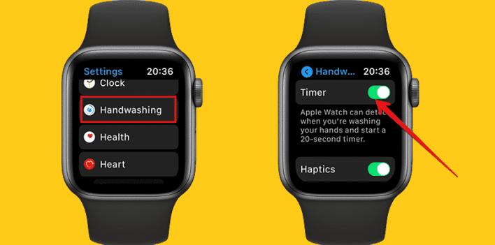 كيف يمكنك استخدام ميزة اكتشاف غسيل اليدين في ساعة آبل الذكية؟