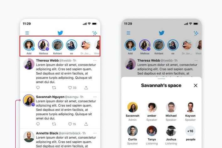 ما هي خدمة مساحات تويتر وكيف تنافس تطبيق Clubhouse؟