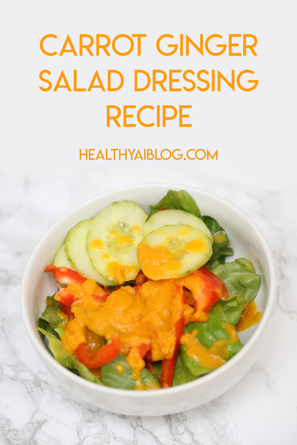 carrot ginger salad dressing recipe