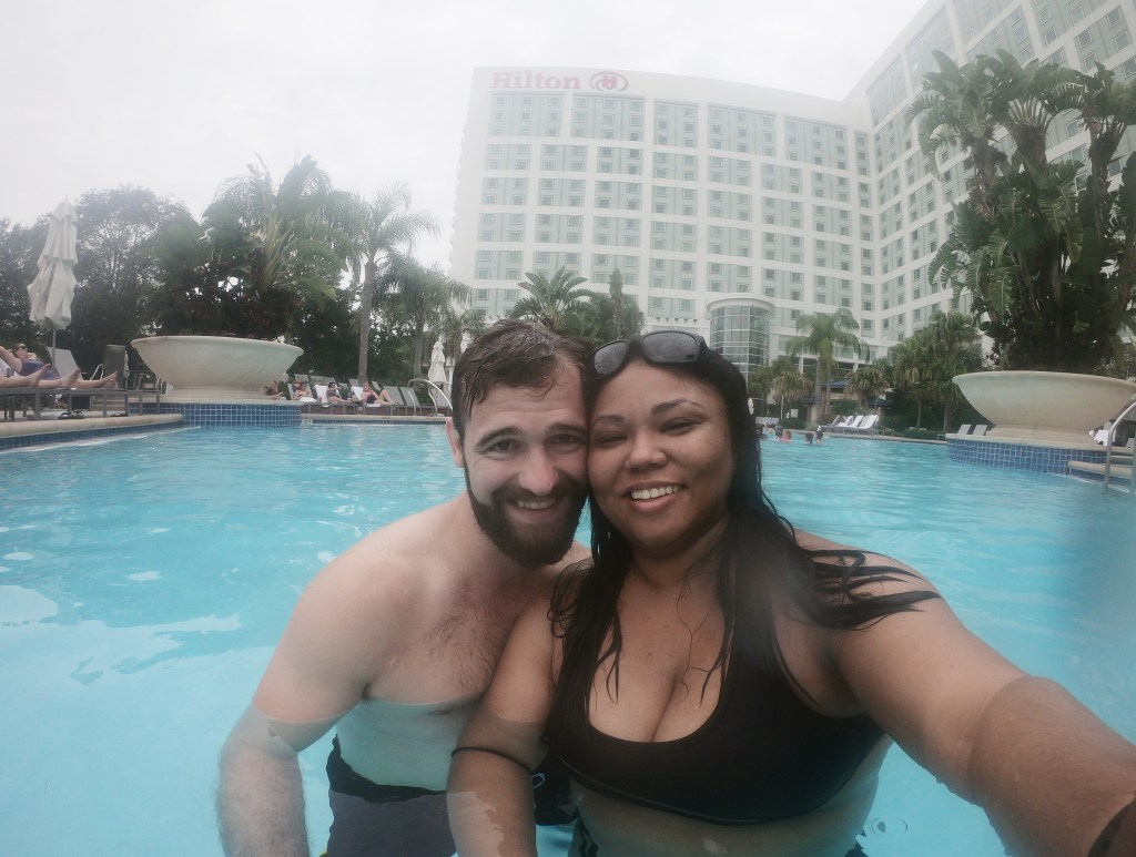 me and my husband hilton orlando