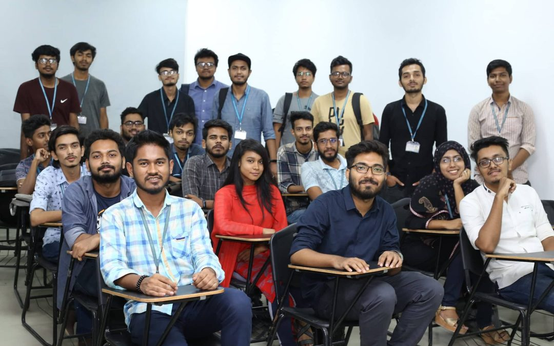 AIUB Computer Club (ACC) organized a workshop titled Communication Skills & Professional Etiquette