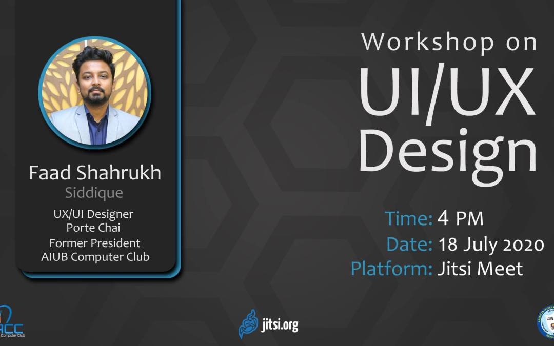 ACC Organized Virtual Workshop on 'UI/UX Design'