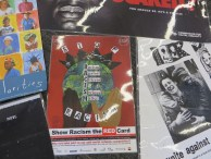 Looking at posters from our collection