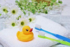 歯磨きしましょ