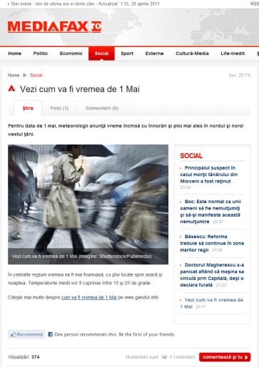 Cum_va_fi_vremea_de_1_Mai-Mediafax