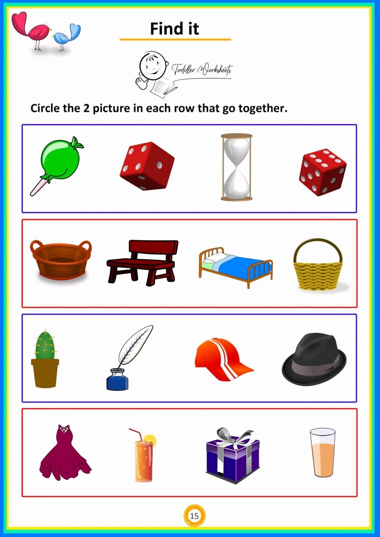 Addition Worksheets For Preschoolers