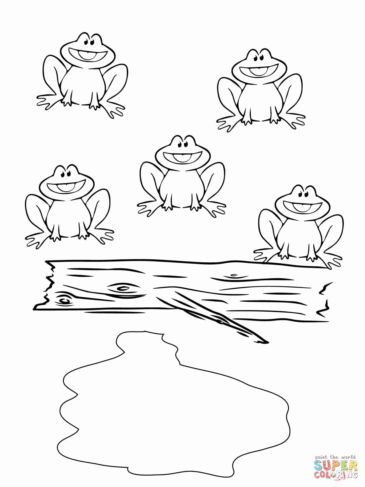 Frog Worksheets For Preschoolers
