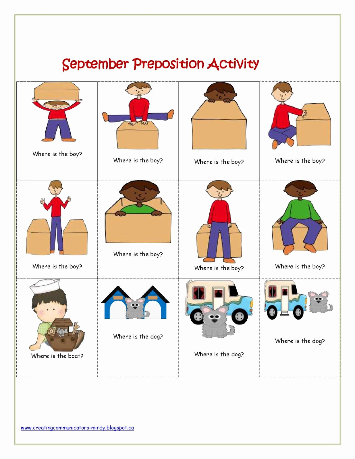 Polar Bear Worksheets For Preschoolers
