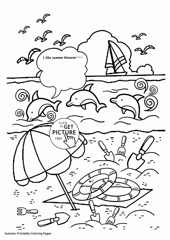 Summer Fun Worksheets For Preschoolers
