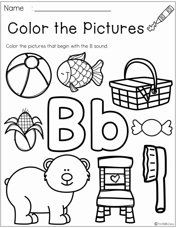 Worksheets For Preschoolers On Letters